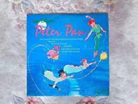 Walt Disney's Peter Pan Vinyl Record RARE Soundtrack Collectible Collectors 12 inch 1968 Mono LP