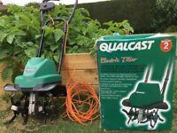 Qualcast Electric Tiller (Rotivator) Model Q-EBH750