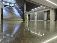 FLOORING SPECIALISTS- POLISHED CONCRETE, TERRAZZO,POLISHED OVERLAYS, GRANITE,MARBLE, MAINTENNACE