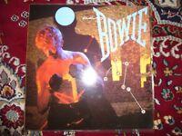 5 Vinyl Albums , David Bowie, Lou Reed, Hendrix, Marc Boland