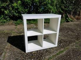 Ikea white shelving unit