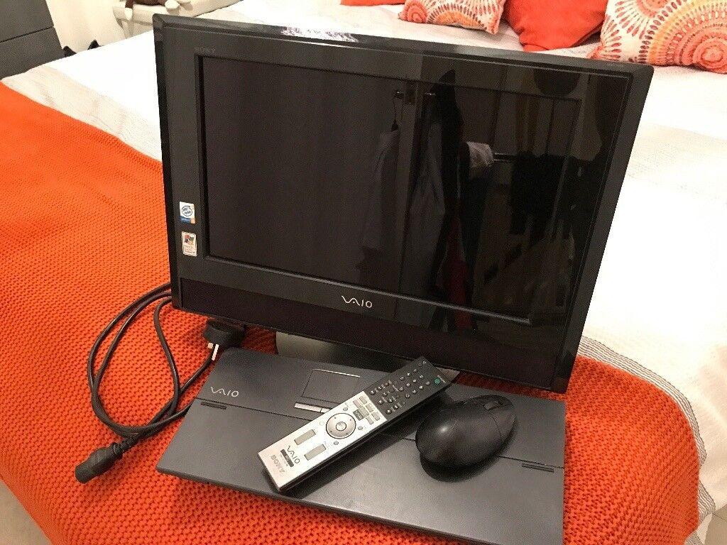 Sony VAIO desktop computer TV brilliant bargain