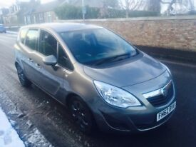 2013 Vauxhall Meriva Exclusive Auto 1.7 Cdti , 12 months MOT, 35.000 miles, £3950