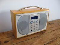 Pure Evoke-2 XT Portable DAB and FM Digital Radio. Faulty Spares / Repairs.
