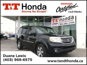 2013 Honda Pilot Touring *No Accidents, Low KMS, Backup Cam