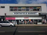 indoor retail space immediate start under new management