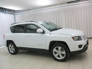 2016 Jeep Compass HIGH ALTITUDE 4x4 SUV w/ ALLOYS, HEATED SEATS,