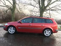 DIESEL RENAULT MEGANE ESTATE DYNAMIQUE 12 MONTHS MOT 6 SPEED FSH