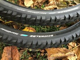 "New Unused 26"" Schwalbe Puncture Protection Tyres"