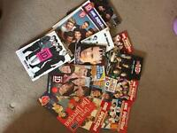 One direction collection cd's dvd's...etc.. everything in all 3 photos
