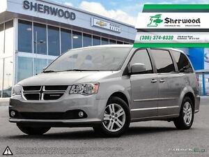 2016 Dodge Grand Caravan Crew Plus w/ Leather & NAV!!
