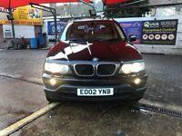 Bmw x5 3.0 petrol automatik start and drive new mot