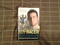 Hardback Book. MARK CAVENDISH - BOY RACER.