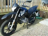 Lexmoto Assault 125cc Learner Legal Motorbike / Motorcycle 66 Plate