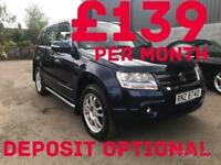 2012 Suzuki Grand Vitara Sz-T Ddis 1.9 130bhp 4x4 Only 60K FINANCE AVAILABLE