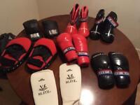 Kickboxing equipment £80