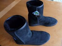Ugg Boots (brand new) Black, 3/4 Length, Size 10