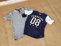 Designer T shirts Luke & Converse