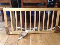 Babydan children's wooden bed rail / guard
