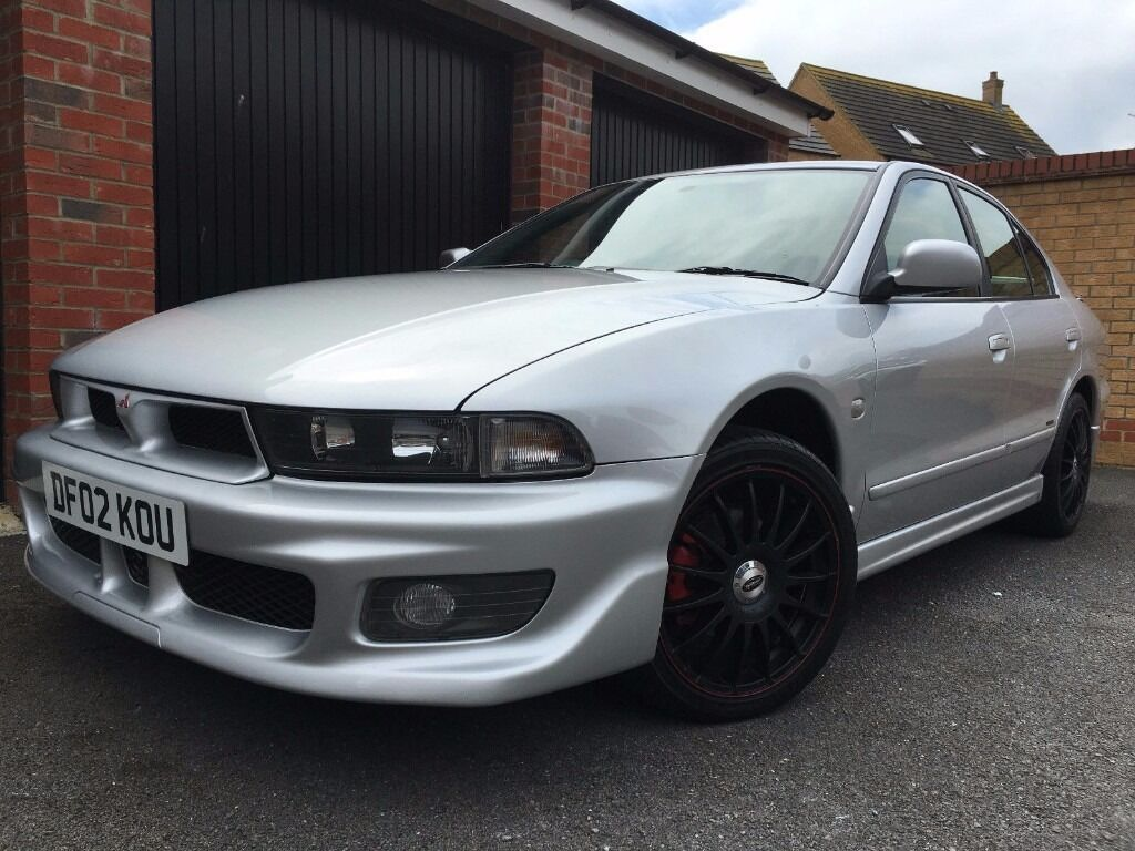 2002 mitsubishi galant 2 0 classic auto silver 4dr saloon must see in bedford. Black Bedroom Furniture Sets. Home Design Ideas