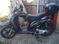 2007 Piaggio Liberty 125 with EXTRAS