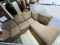 🚚🚚🚚✅✅Large L Shape Sofa For Sale Very Comfortable Free Delivery Radius Apply