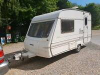 Bailey discovery 1997 2 berth mint condition light weight 700kg