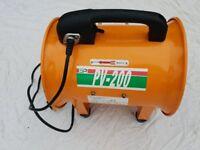 Fan/ Extractor: Ebac PV 200 Power Ventilator