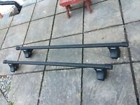 Thule Roof Bars for VW Polo 2002 onwards