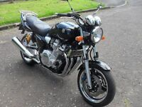 YAMAHA XJR 1300 BEAUTIFUL STANDARD CONDITION, VERY LOW MILEAGE