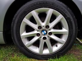 BMW 3 Series E46 Compact Alloy Wheels with Tyres. Fit Vivaro?