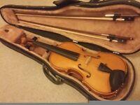 Andreas Zeller full size violin