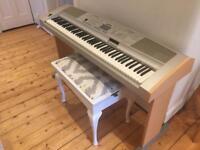 YAMAHA PORTABLE GRAND PIANO DGX-500 £250 Ono