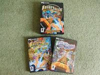 Video Game - Rollercoaster Tycoon 3: Gold Edition