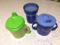 Children drinking cups