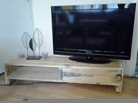 Wooden pallets tv stand,tv unit