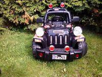 Electric kids car jeep