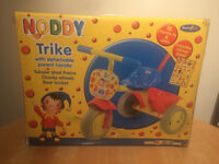 Noddy tricycle trike - Christmas present- parent handle - outdoor toy