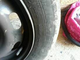 4 Michelin tyres and rims