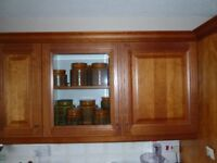 Kitchen cupboards, various sizes