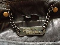Harley Davidson Leather Jacket + HG Leather trousers for sale