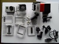 GoPro hero 3 silver camcorder/action video
