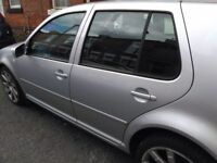 WV GOLF 2001 TDI SILVER FOR SALE, Good condition, full service history, no scratches