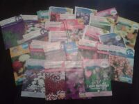 25 Packets Of Flower Seeds - Dozens Of Varieties To Choose From