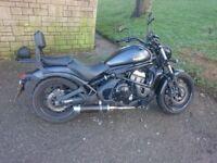 Kawasaki vulcan s matt black
