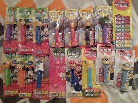 Pez dispenser bundle (boxed/unused) (Mario, Minions, Avengers, Star Wars etc)