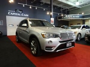 2015 BMW X3 XDRIVE 2.8I / NAVIGATION / BACK UP CAMERA