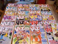 25 x viz comics dated c.2004/10