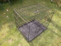 collapsible dog crate - pet carrier