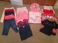 Girls 6-9 months clothes bundle - top brands